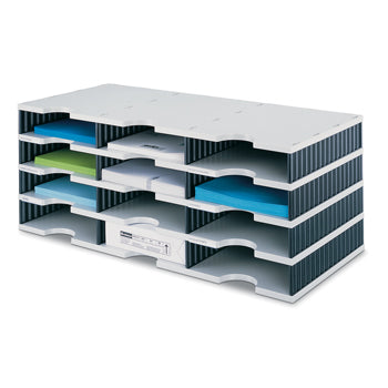 FILING, STYRODOC RANGE, Trio with 12 Compartments, Each