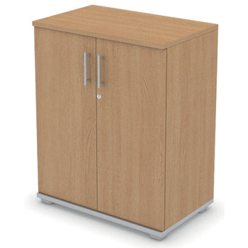 CUPBOARDS, DOUBLE DOOR CUPBOARD, 1000mm height, Beech