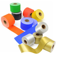 BORDER ROLLS, Straight Cut Poster Paper Assorted, Metallics, Pack of 2 x 2 rolls