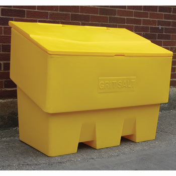 GRIT BIN - IMPACT RESISTANT, 400 Litres, Holds 19 x 25kg bags, Each