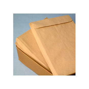 EXPANDING GUSSET ENVELOPES, C4 (324 x 229mm) x 25mm, Peel/Seal, Pocket, 130gsm Manilla, Box of 125