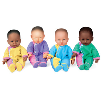 WASHABLE BABY DOLLS, Pack of 4