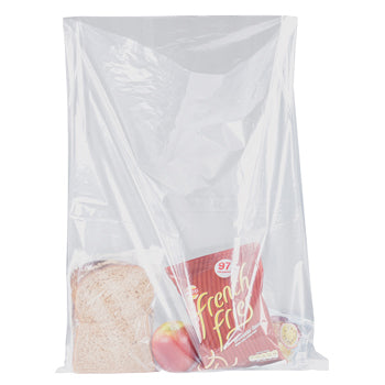 BAGS, Polythene, General Purpose, Food Grade, 120g (30 micron), 300 x 450mm, Pack of 1000