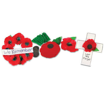 POPPIES CRAFT PACK, Age 5+, Pack of 50