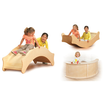 3-in1 ROCKING BOAT