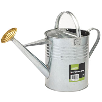 WATERING CANS, Galvanised, 3 Gallon (13.6 ltr), Each