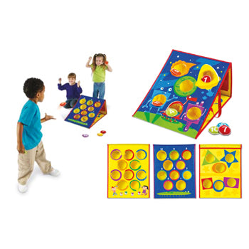 SMART TOSS(TM) EARLY SKILLS ACTIVITY SET, Age 3-7, Set