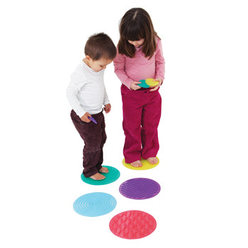 SILISHAPES SENSORY CIRCLE SET, Age 3+, Set of 10