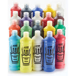 WASHABLE READY MIXED POSTER PAINTS, Brian Clegg, Assorted Colours, Pack of 20 x 600ml