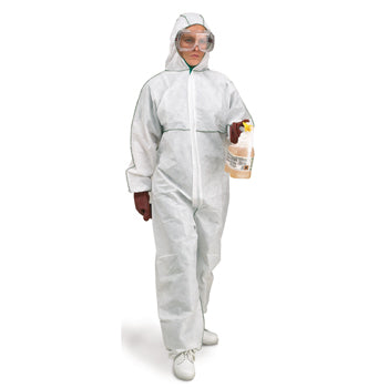 DISPOSABLE COVERALLS, Type 5 & 6, Large, Each