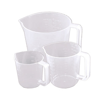 JUGS, MEASURING, GRADUATED, Polypropylene, 1 litre (2 pints), Each