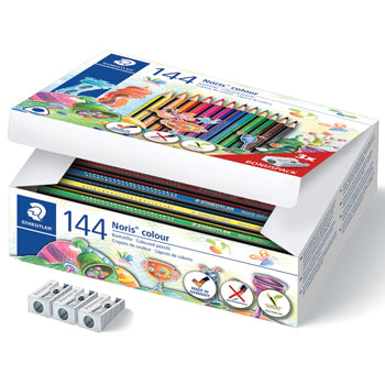 STANDARD TRIANGULAR COLOURED PENCILS, STAEDTLER(R) Noris Colour 187, Class Pack, Class Pack of 144
