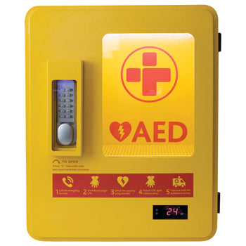 AED LOCKABLE STEEL CABINET, Each
