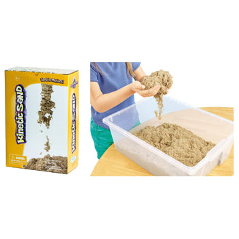 KINETIC SAND, Natural, Box of 5kg