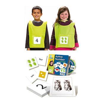 EARLY NUMBERS, ACTIVE NUMBER KIT, Age 4+, Set
