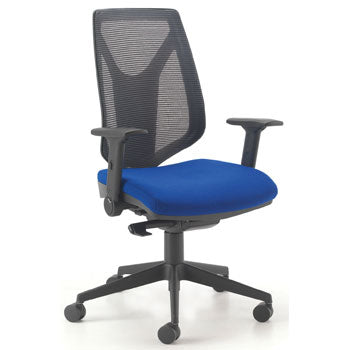 SWIVEL, OPERATOR CHAIRS, ERGONOMIC HIGH BACK TASK CHAIR, Mesh Back, Tarot