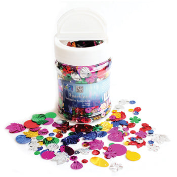 SEQUINS, Brights, Tub of 500g