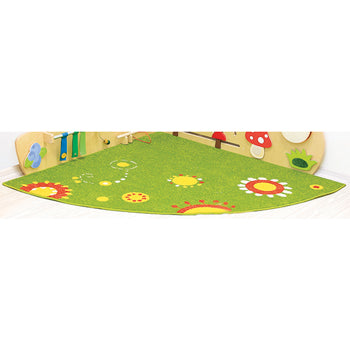 FOREST SENSORY WALL, Corner Carpet, Each