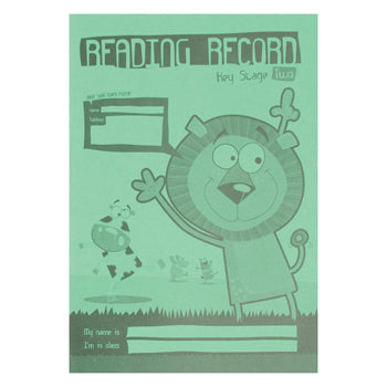 A5 READING RECORDS, Key Stage 2, Pack of 30