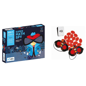 NUMBER GAMES, Super Math Spy, Each