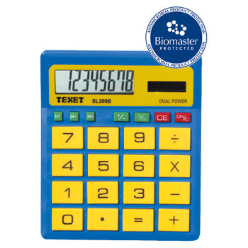 GENERAL SCHOOL, CALCULATORS, TEXET SL200B, Each