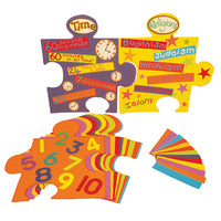 DISPLAY SHAPES, Jumbo Jigsaw Pieces, Pack of 20