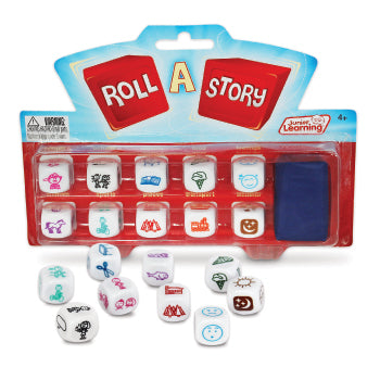 WORD GAMES, Roll A Story, Age 4-9, Each