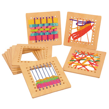 WEAVING SQUARES, Pack of 10