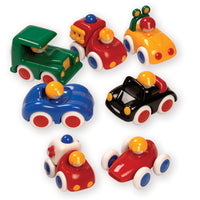 SMALL HANDS VEHICLE PACK, Age 6 mths+, Set of 7