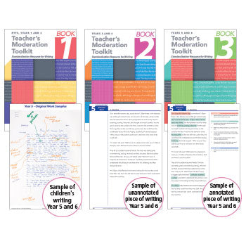 TEACHER'S MODERATION TOOLKIT, Standardisation Resource for Writing, Book 1, Each