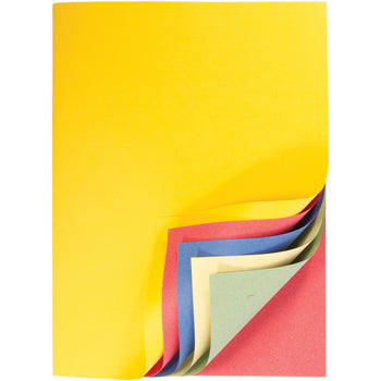 SCRAP BOOKS, Assorted Brights Pages, A4+, Pack of 50