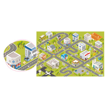 OCCUPATIONS PLAYMAT, Each
