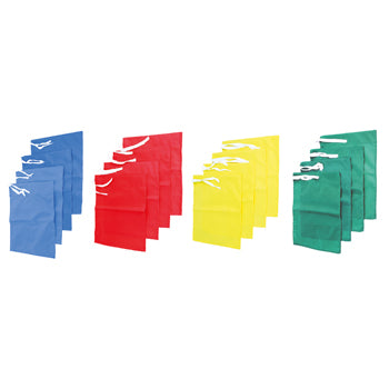 FOOTBALL, FLAGS FOR CORNER POSTS, Green, Pack of 4