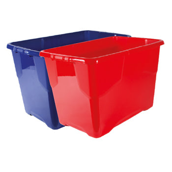 SMARTLINES STORAGE BOXES, 42 litres, Red, Each
