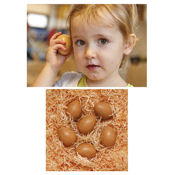SENSORY SOUND EGGS, Age 2+, Set of 6
