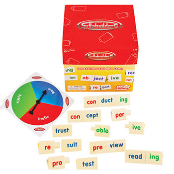 WORD GAMES, SYLLABUILDERS, Age 7+, Each