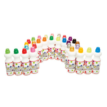 CHUBBIE PAINT MARKERS, Mixed Class Pack, Pack of 30 x 75ml