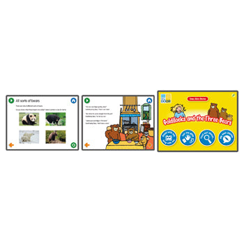 TRADITIONAL TALES APPS, Goldilocks and the Three Bears, 6 device licence, Each
