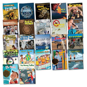 CONNECTORS BOOK PACKS, Interest Level 9+ (not pictured), Age 9-12 years, Pack of 132