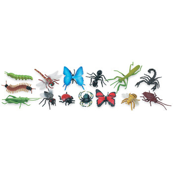 TOY ANIMALS, Insects, Ages 3+, Pack of 48