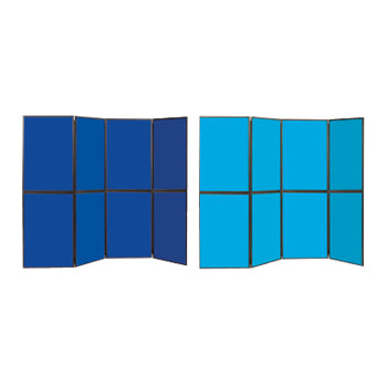 BUSYFOLD(R) TRUBLUE(R) EXPRESS DELIVERY, 8 Panels, Black Trim, Each