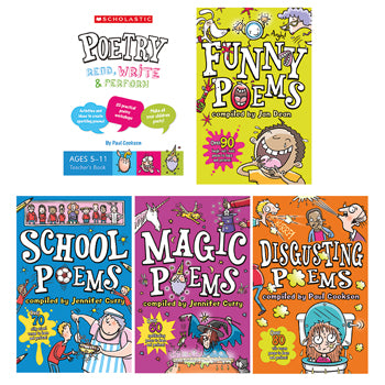 POETRY PACK 1, Pack of 5