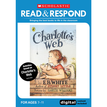 READ & RESPOND Upper Key Stage 2, Charlotte's Web, Read & Respond, Each
