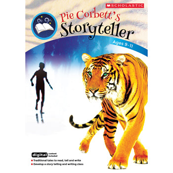 PIE CORBETT VIDEOS & STORYTELLING ACTIVITIES, The Boy and the Tiger, Ages 9-11, Each
