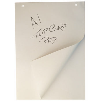 FLIPCHART PADS, Virgin Paper, A1 (594 x 841mm), 60gsm, Smartbuy, Pack of 5