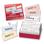 SUFFIX & SPELLING FLASHCARDS, Pack