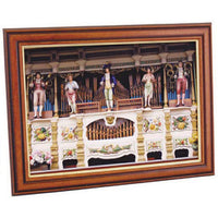 PICTURE FRAMES, WOOD/GOLD, 644 x 890mm overall (For A1), Each