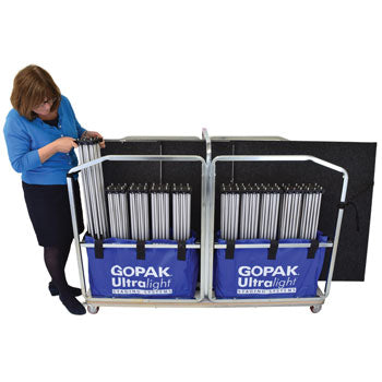 LIGHTWEIGHT STAGING SYSTEMS, Large Storage Trolley