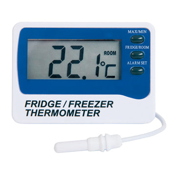 FRIDGE/FREEZER THERMOMETERS, Digital, Each