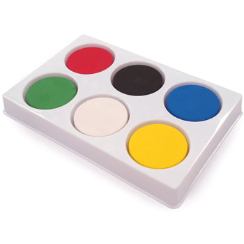 STUDENT WATERCOLOURS, 6-Block Palette, Each